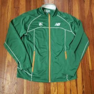 New Balance Ireland Green Mens Track Jacket Size L